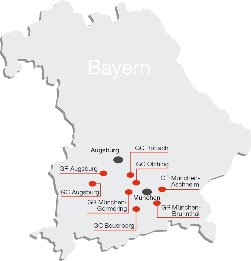 Karte Bayern.Egm Pro Shops Bayern Karte Egm